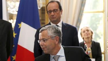 François Hollande reçoit le président du directoire Michel Combes mardi après-midi
