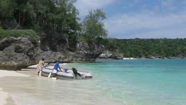 Un petit bateau sur une île du Vanuatu. (Photo d'illustration)