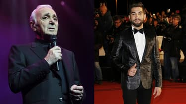 Charles Aznavour et Kendji Girac