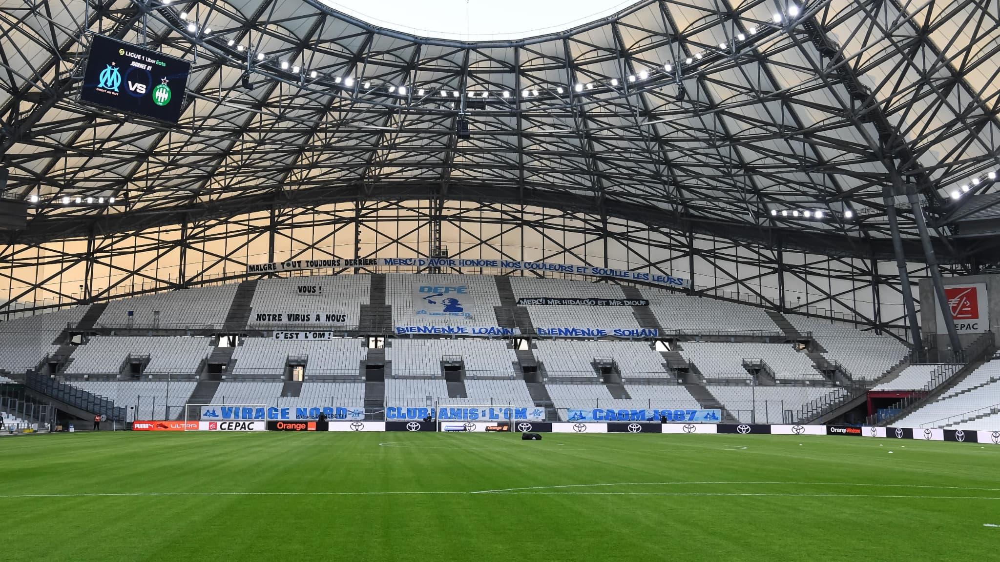 Covid-19: à Marseille, le stade Vélodrome va devenir un grand centre de vaccination - RMC Sport