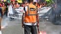 Les syndicats de cheminots ont affiché leur unité.