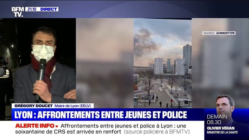 Grégory Doucet sur les affrontements à Lyon: «On a prévu une présence de la police nationale et de la police municipale plus importante»