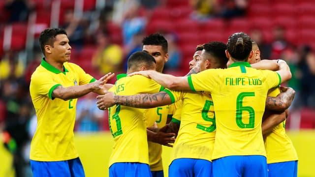 L'équipe nationale du Brésil, le 9 juin 2019