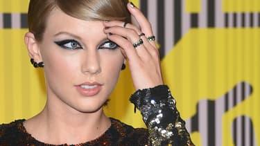 Taylor Swift, le 30 août 2015, aux MTV Video Music Awards.