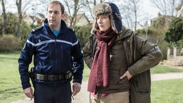 """Corinne Masiero dans la série """"Capitaine Marleau"""" sur France 3"""