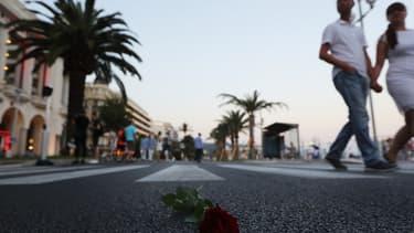 La promenade des Anglais n'avait pas revu de feu d'artifice depuis l'attentat de 2016