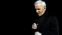 Le chanteur Charles Aznavour sur scène en Arménie, en mai 2014.