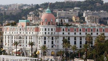 La Promenade des Anglais, à Nice, une ville où 2.522 contribuables payent l'impôt sur la fortune.