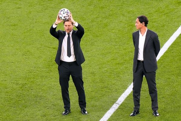 Totti et Nesta à Rome