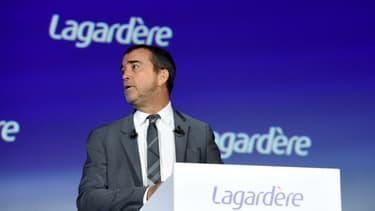 Arnaud Lagardère, gérant commandité du groupe Lagardère