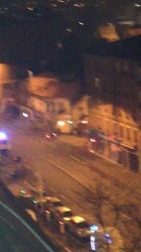 Incendie à Gennevilliers en région Île-de-France - Témoins BFMTV