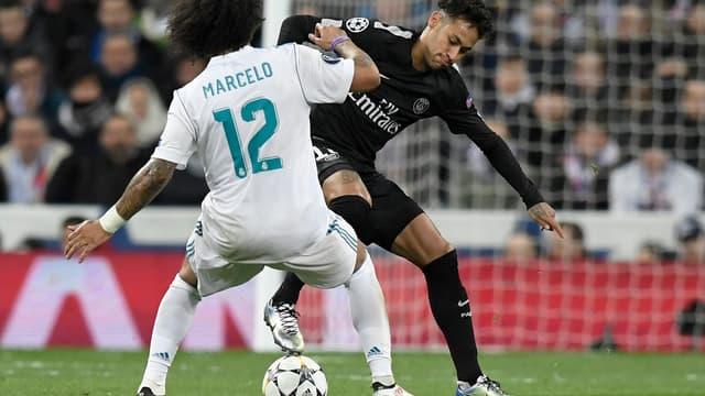 Marcelo et Neymar