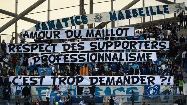 Les Fanatics dimanche lors d'OM-Caen
