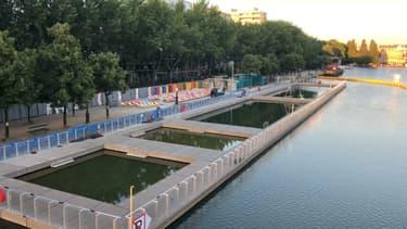 La baignade au bassin de la Villette est repoussée.