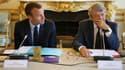 Emmanuel Macron et Jean-Louis Borloo le 22 mai 2018.