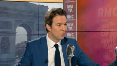 Guillaume Peltier sur BFMTV et RMC le 30 janvier.