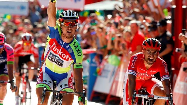 Peter Sagan remporte la 3e étape de la Vuelta 2015