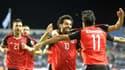Mohamed Salah, véritable star de la sélection égyptienne.