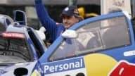 Carlos Sainz a remporté son premier Dakar aujourd'hui à Buenos Aires.