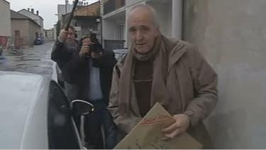 Arrivée de Dany Leprince chez son épouse à Marmande