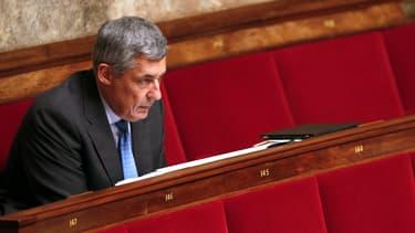 Henri Guaino à l'Assemblée nationale en juin 2014
