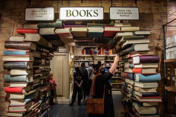 Dans la boutique Harry Potter à New York
