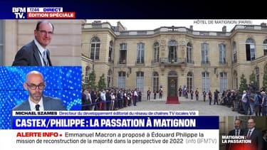 Story 2 : La passation à Matignon entre Édouard Philippe et Jean Castex - 03/07