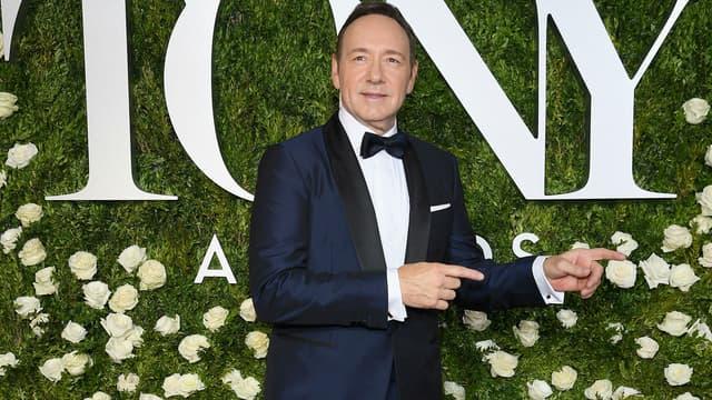 Kevin Spacey lors des Tony Awards en 2017