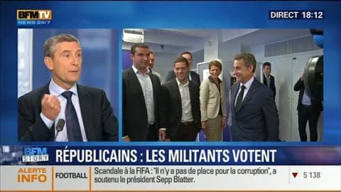 """""""Les Républicains"""": les militants UMP passent aux urnes"""