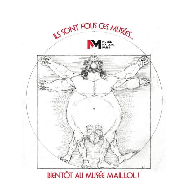 """""""Uderzo, comme une potion magique"""", l'exposition que consacrera le musée Maillol au dessinateur."""