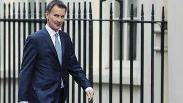 Le ministre britannique des Affaires étrangères, Jeremy Hunt.