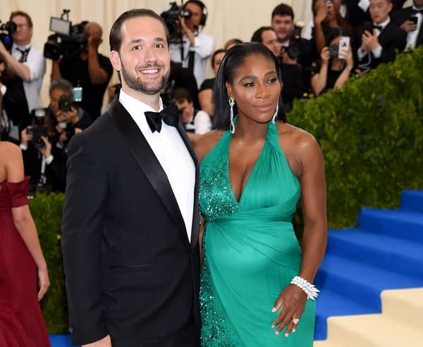 Serena Williams et Alexis Ohanian