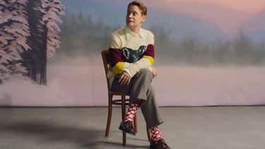Macaulay Culkin dans la pub de Happy Socks