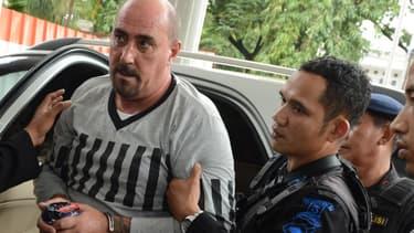 Serge Atlaoui à Jakarta, en Indonésie, le 1er avril 2015.