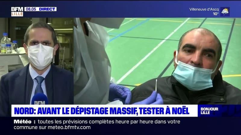 Nord: Philippe Amouyel, professeur et médecin lillois, explique pourquoi il faut tester à Noël avant le dépistage massif à Roubaix