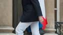 La ministre de l'Economie Christine Lagarde à l'Elysée à l'occasion d'une réunion sur le plan d'aide à la Grèce. Un communiqué de l'Elysée, publié après un entretien téléphonique entre le président Nicolas Sarkozy et la chancelière Angela Merkel, assure q