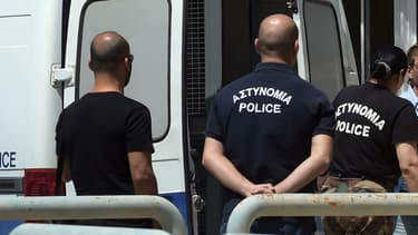 Police chypriote à Nicosie (illustration)