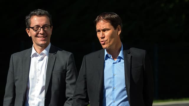 Jacques-Henri Eyraud et Rudi Garcia