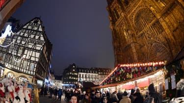 L'Alsace exporte son marché de Noël.