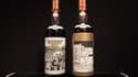 Les deux bouteilles de whisky Macallan de 60 ans d'âge ont battu le précédent record.