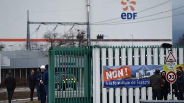 Seule la fermeture des deux réacteurs de la centrale de Fessenheim a été pour l'instant décidée.