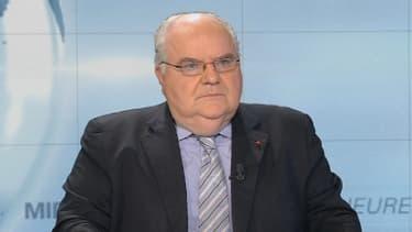 Alain Bergounioux, auteur du rapport sur la morale laïque