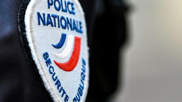 Un écusson de la police nationale (illustration)