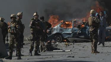 Attaque à la voiture piégée le 31 mai 2017 à Kaboul, en Afghanistan