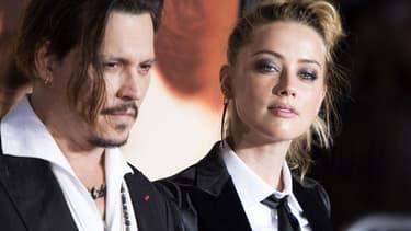 Amber Heard et Johnny Depp, le 21 novembre à Los Angeles