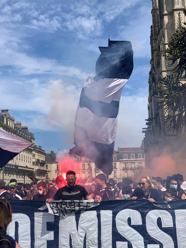 La colère des ultras bordelais
