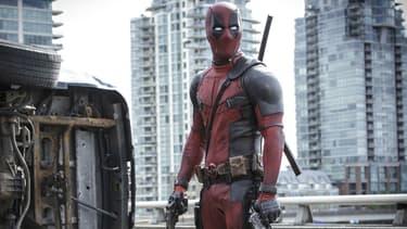 """Ryan Reynolds dans """"Deadpool"""" en 2016"""