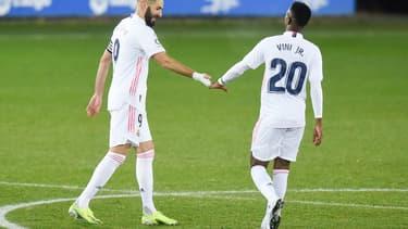 Karim Benzema et Vinicius