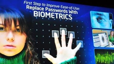 Intel teste un système de biométrie basé sur les veines de la main.