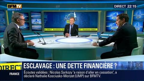 Laurent Neumann face à Eric Brunet: Faut-il indemniser les descendants d'esclaves ?
